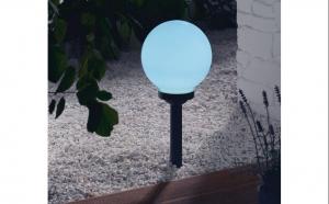 SET 4 X Lampa Solara GLOB2O, LED, IP44, dimensiune 2OX20X55CM, la doar 129 RON de la 249 RON!