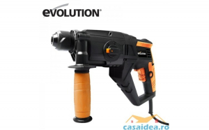 Ciocan rotopercutor Evolution cu patru func  ii SDS4 800   EVO096 0003