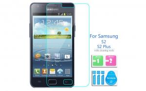 Folie sticla securizata Samsung Galaxy S2/S2 Plus, transparenta