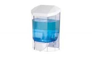 Dispenser pentru sapun lichid si dezinfectant gel, Flosoft, 500 ml