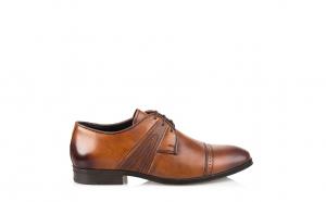 Pantofi barbati eleganti piele naturala 7401-7407 Negri, Maro