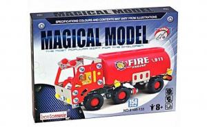 Pompieri Iron Commander 154 piese, +8ani
