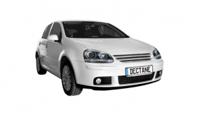 Set 2 faruri DEPO compatibil cu VW Golf V 5 (2003-2009) Jetta (2003-2009) GTI Look Negru
