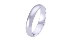 Inel argint 925 model verigheta 4 mm