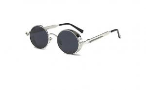 Ochelari de Soare Negru Argintiu