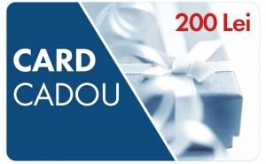 CARD CADOU in valoare de 200 RON, CARDURI CADOU