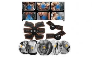 Set Fitness 3Pcs: Aparat fitness ABS Fit Training Gear Abdominal pentru abdomen si antrenamentul brațului, taliei și picioarelor