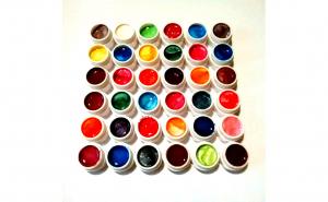 Set 36 geluri colorate unghii false, manichiura
