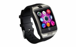 Smartwatch Vogue Q18 Curved, cu camera si telefon 3G Display, 1.54 inch Bluetooth