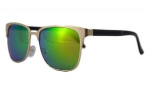 Ochelari de soare Passenger 2 Verde cu reflexii - Auriu