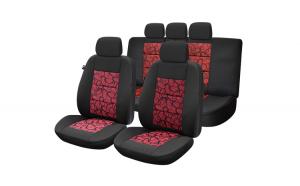 Set huse scaun premium lux – rosu