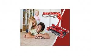 Curatenie impecabila si rapida cu Matura Electrica Swivel Sweeper G6 la doar 99 RON in loc de 239 RON