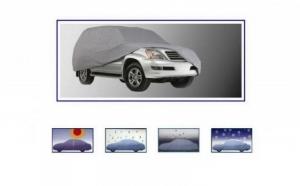 Husa auto din material Peva, rezistenta ploaie, grindina, la doar 69 RON in loc de 139 RON! Garantie 12 luni!