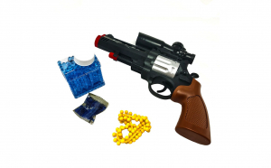 Pistol 27 cm cu bile