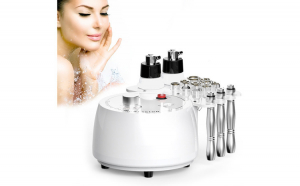 Aparat Cosmetic Profesional Diamond Micro-Dermabraziune, Lifting Ten Profesional Salon, Intinerire a pielii, Indepartare Puncte Negre, Skin Rejuvenation SR-NF108