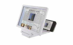 Suport pentru telefon cu lupa 3D
