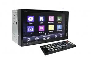 Imagine cupon oferta -                          CD-DVD player auto, 2DIN, universal, cu android, GPS, Touchscreen, microfon incorporat, ecran LCD 7 inchi
