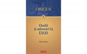 Omilii si adnotari la Exod, autor Origen