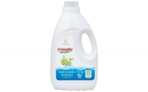 Detergent rufe Friendly Organic pentru bebelusi Marsilia, 40 spalari, 2000 ml