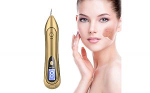 Aparat Cosmetic Plasma Indepartarea Petelor, Alunitelor, Pistruilor, Ecran LCD, Antiacnee 1 Mole Removal, Floral Gold