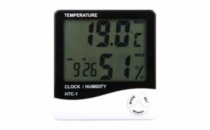 Termometru cu afisarea temperaturii si a umiditatii HTC-1