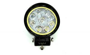 Proiector LED rotund 27W 12/24V Spot