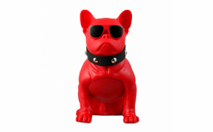 Boxa portabila wireless in forma de caine Bulldog