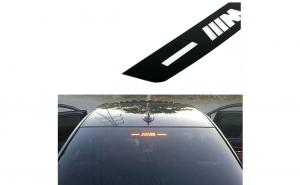 Sticker stop luneta BMW M, seria 5 si 7