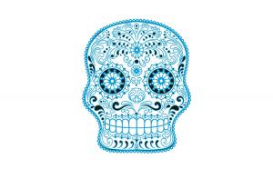 Sticker decorativ, Skull, 78 cm, 216STK-2