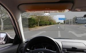 Prinde oferta: Set 2 bucati Parasolar auto HD Vision Visor cu functie pentru zi/noapte, la 79 RON in loc de 189 RON