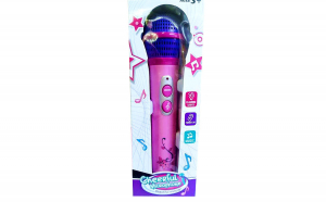 Microfon roz cu functii si 12 melodii