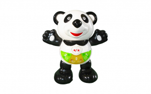 Urs panda cu baterii sunete si lumini