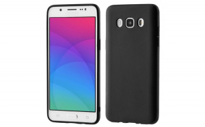 Husa Soft Matt pentru Samsung Galaxy J7 2016 J710 black