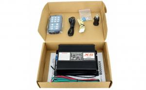Statie amplificator profesionala pentru sirena auto X5 12V JstA