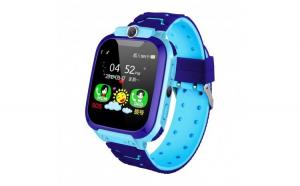 Ceas Copii Smartwatch Techstar® SW70 Albastru  SIM  Monitorizare Locatie  Intercom  SOS  Camera  Microfon