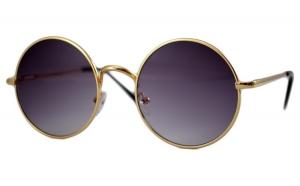 Ochelari de soare John Lennon Mov inchis - Auriu