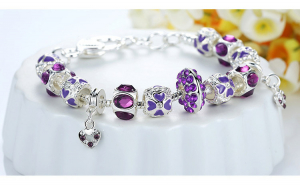 Bratara Purple Lux