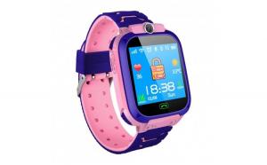 Ceas Copii Smartwatch Techstar® SW70 Roz  SIM  Monitorizare Locatie  Intercom  SOS  Camera  Microfon