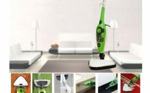 Mop electric cu aburi 10 in 1, aparat multifunctional