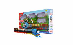 Set trenulet cu locomotiva Thomas, vagoane si cale ferata 14 piese