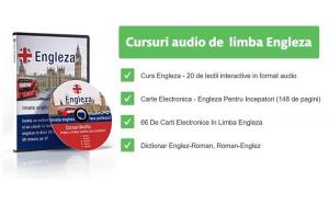 Curs audio - invata sa vorbesti, sa scrii si sa citesti in limba engleza in doar 20 de zile, 50 de minute pe zi Black Friday Romania 2017
