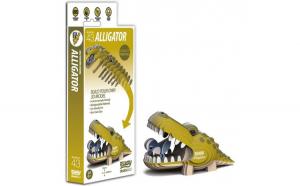 DIY Animale 3D Eugy Aligator Brainstorm