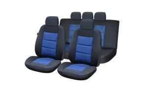 Set huse scaun premium lux – albastru