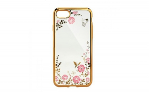Husa Diamond iPhone 7/8 , Auriu