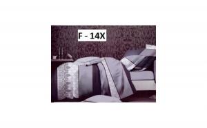Lenjerii de pat Superb, 4 piese din bumbac satinat la doar 93 RON in loc de 253 RON