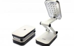 Lampa de birou pliabila cu LED si functie touch, la doar 39 RON in loc de 79 RON