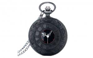 Ceas de buzunar negru