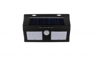 Lampa Solara Dubla de Perete cu Senzor Solar Wall Light