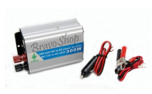 Invertor auto 300W - USB + GARANTIE, la doar 118 RON in loc de 249 RON