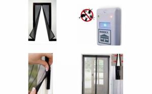 Aparat anti-insecte + Cadou perdeaua anti-insecte cu inchidere magnetica